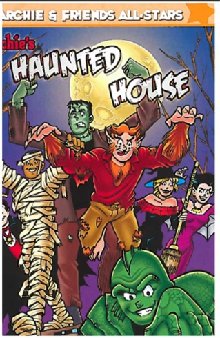 Archie Haunted House Cover