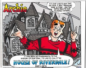 Archie Haunted House - Forefathers